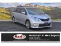 2011 Silver Sky Metallic Toyota Sienna SE  photo #1