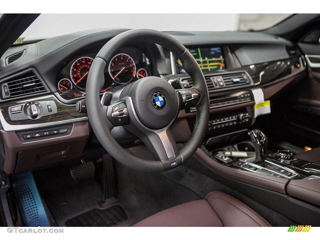 mocha interior 2016 bmw 5 series 550i sedan photo. Black Bedroom Furniture Sets. Home Design Ideas