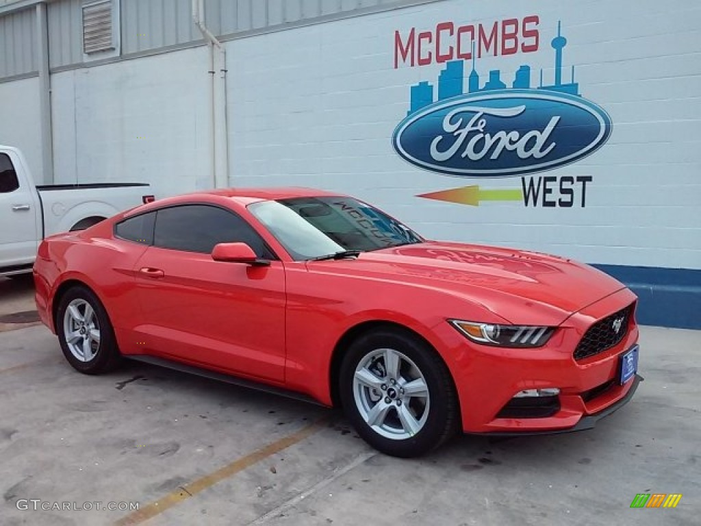 Competition orange ford mustang ford mustang v6 coupe