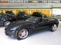 Black 2015 Chevrolet Corvette Stingray Convertible