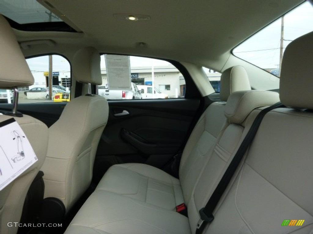 Medium Soft Ceramic Interior 2016 Ford Focus Titanium Sedan Photo 109023287