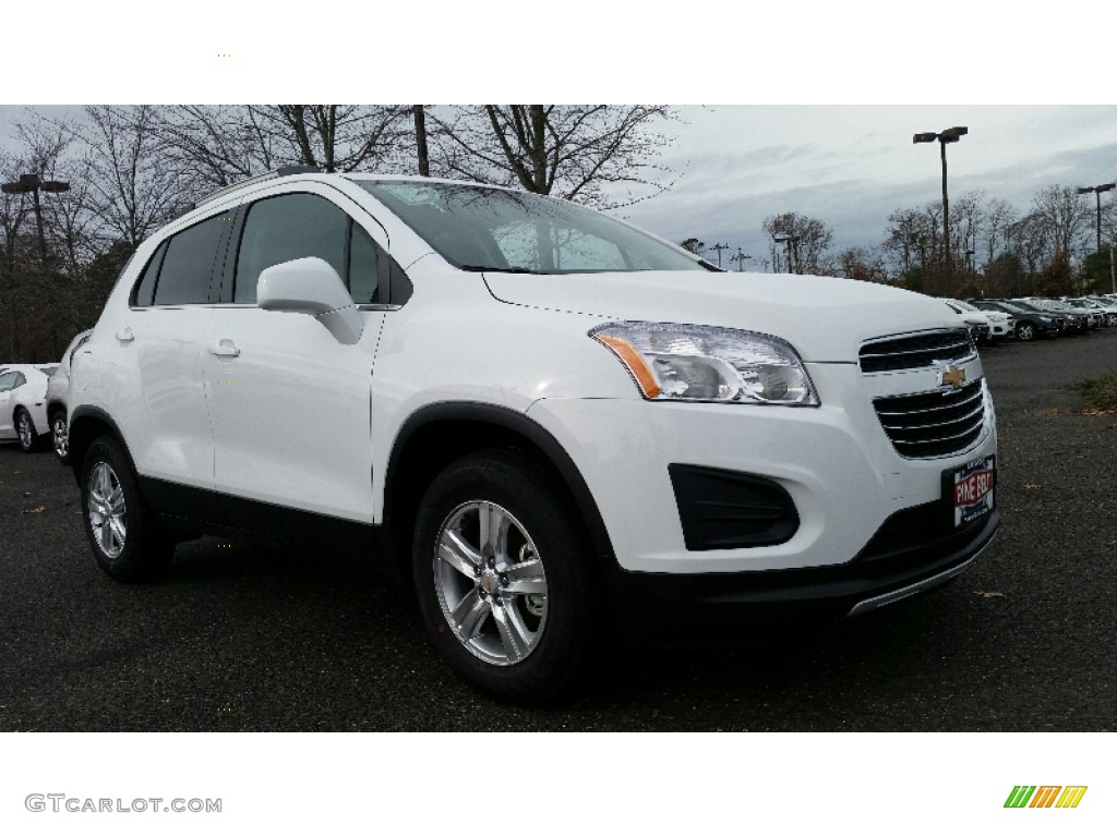 2016 summit white chevrolet trax lt awd 109024524 car color galleries. Black Bedroom Furniture Sets. Home Design Ideas