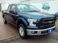Blue Jeans Metallic 2015 Ford F150 Gallery
