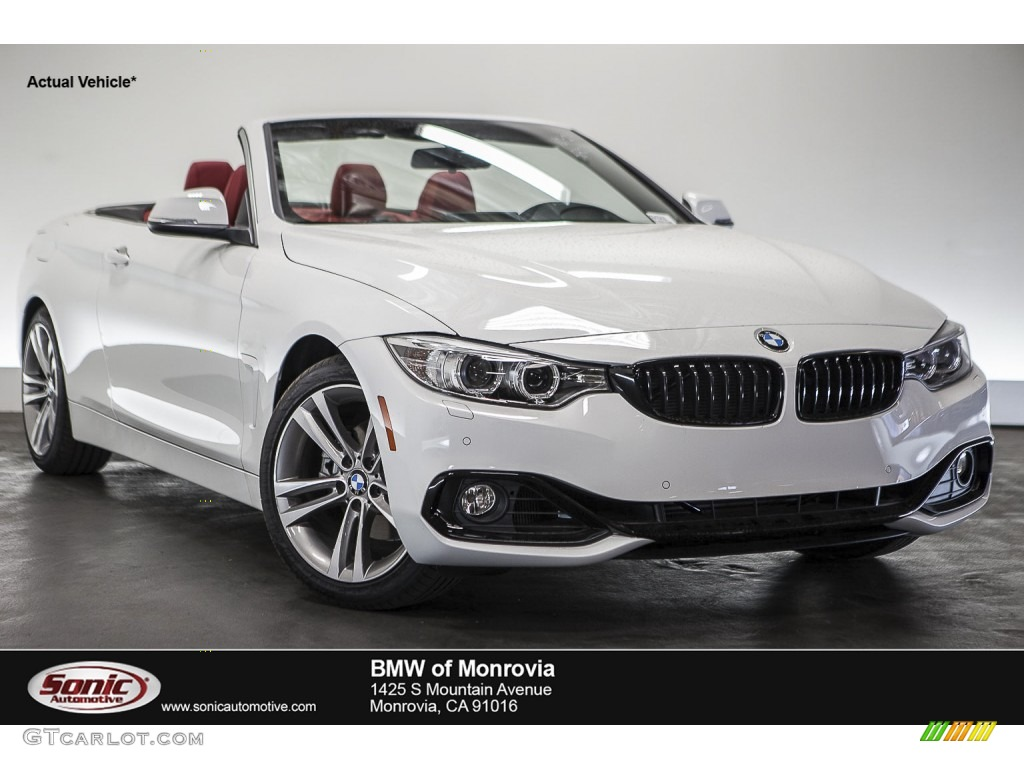 2016 Alpine White Bmw 4 Series 428i Convertible 109024669 Car Color Galleries