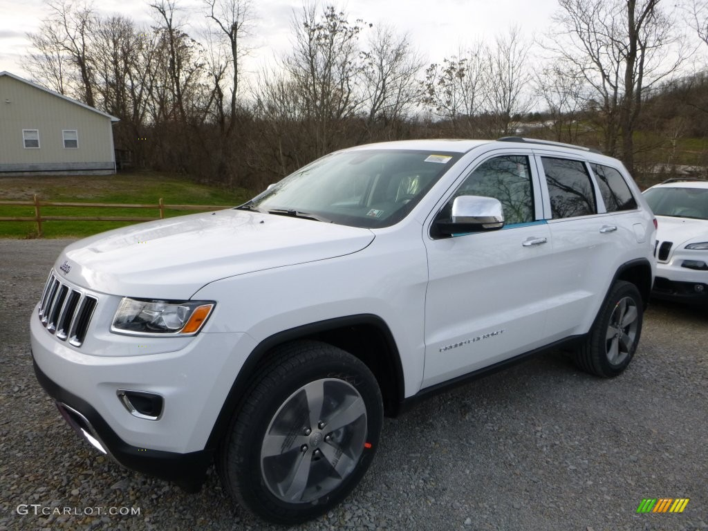 2015 bright white jeep grand cherokee limited 4x4 109040647 car color galleries. Black Bedroom Furniture Sets. Home Design Ideas