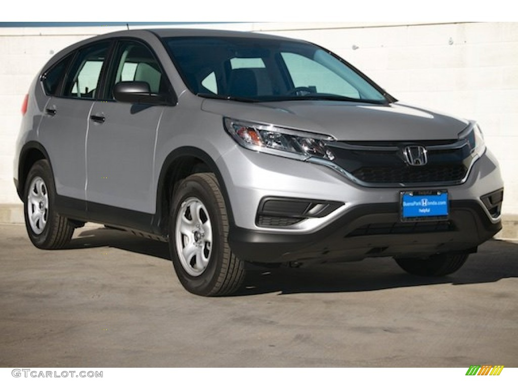 2016 alabaster silver metallic honda cr v lx 109040619 for Gray honda crv
