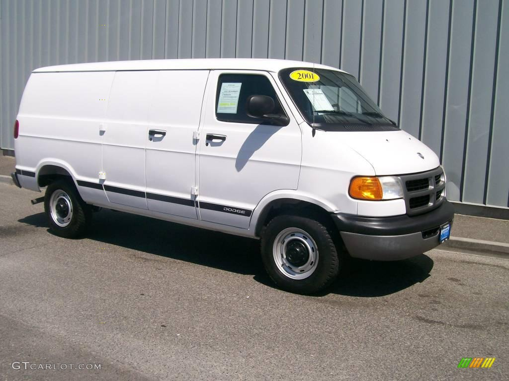 2001 bright white dodge ram van 3500 1085673 gtcarlot. Black Bedroom Furniture Sets. Home Design Ideas