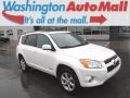 Blizzard White Pearl 2011 Toyota RAV4 V6 Limited 4WD