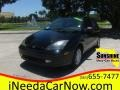 2003 Pitch Black Ford Focus ZX3 Coupe  photo #1