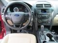 Medium Light Camel Dashboard Photo for 2016 Ford Explorer #109113232