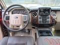 2016 Ford F250 Super Duty Adobe Interior Dashboard Photo