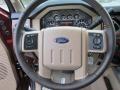 2016 Ford F250 Super Duty Adobe Interior Steering Wheel Photo