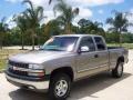 2000 Light Pewter Metallic Chevrolet Silverado 1500 LS Extended Cab 4x4  photo #7