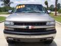 2000 Light Pewter Metallic Chevrolet Silverado 1500 LS Extended Cab 4x4  photo #8