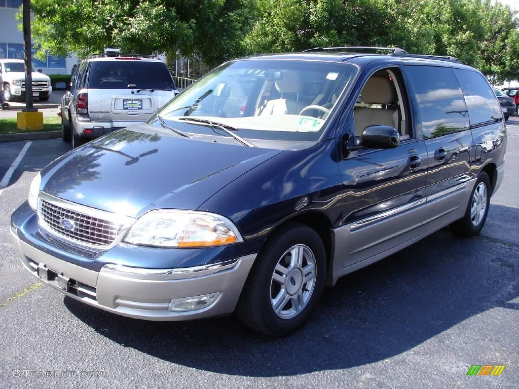 2002 true blue metallic ford windstar sel 10893068 gtcarlot com car color galleries gtcarlot com