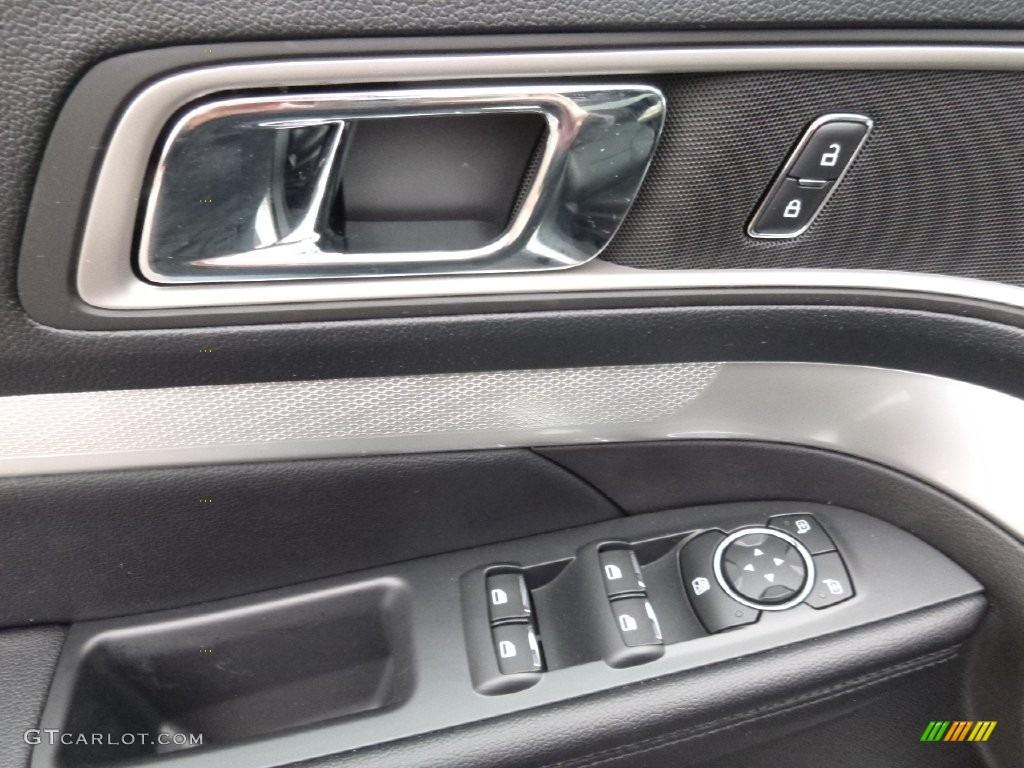 2016 Explorer XLT 4WD - Ingot Silver Metallic / Ebony Black photo #9