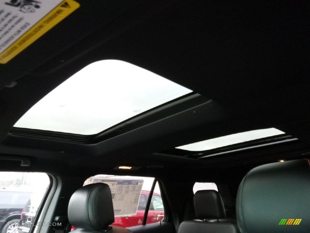 2016 Explorer XLT 4WD - Ingot Silver Metallic / Ebony Black photo #12