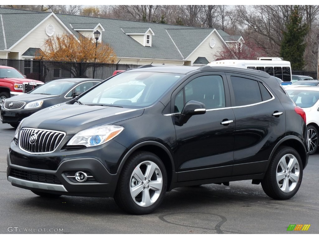 2016 Carbon Black Metallic Buick Encore 109147269 Car Color Galleries
