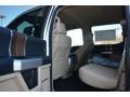 2016 Ford F150 Medium Light Camel Interior Rear Seat Photo