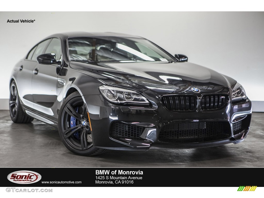 2016 black sapphire metallic bmw m6 gran coupe 109147166. Black Bedroom Furniture Sets. Home Design Ideas