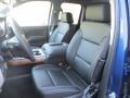 Jet Black Front Seat Photo for 2016 Chevrolet Silverado 1500 #109177531