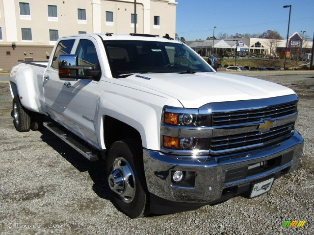 2016 summit white chevrolet silverado 3500hd lt crew cab 4x4 dual rear wheel 109147293. Black Bedroom Furniture Sets. Home Design Ideas