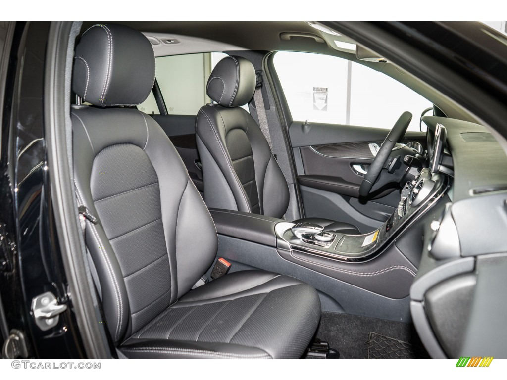 black interior 2016 mercedes benz glc 300 4matic photo 109196227