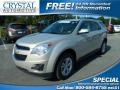 Gold Mist Metallic 2011 Chevrolet Equinox LT