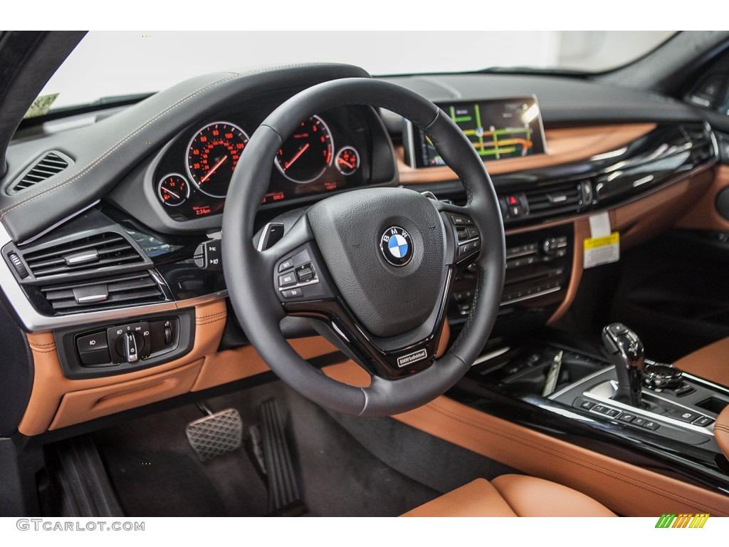 Amaro Brown Interior 2016 BMW X5 XDrive50i Photo 109201804