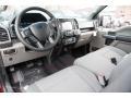 Medium Earth Gray Prime Interior Photo for 2016 Ford F150 #109215595