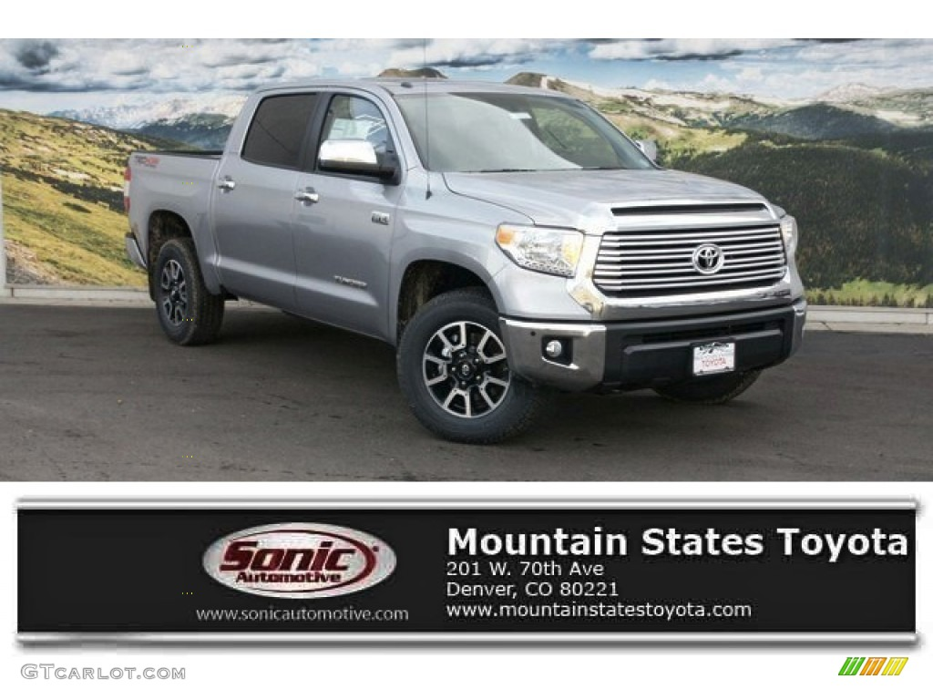 2016 Tundra Limited CrewMax 4x4 - Silver Sky Metallic / Black photo #1