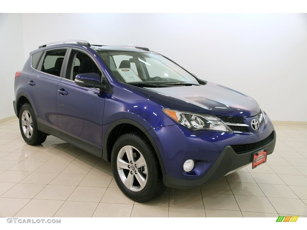 2015 blue crush metallic toyota rav4 xle 109210957 car color galleries. Black Bedroom Furniture Sets. Home Design Ideas