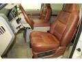 2010 Ford F250 Super Duty Camel Interior Front Seat Photo