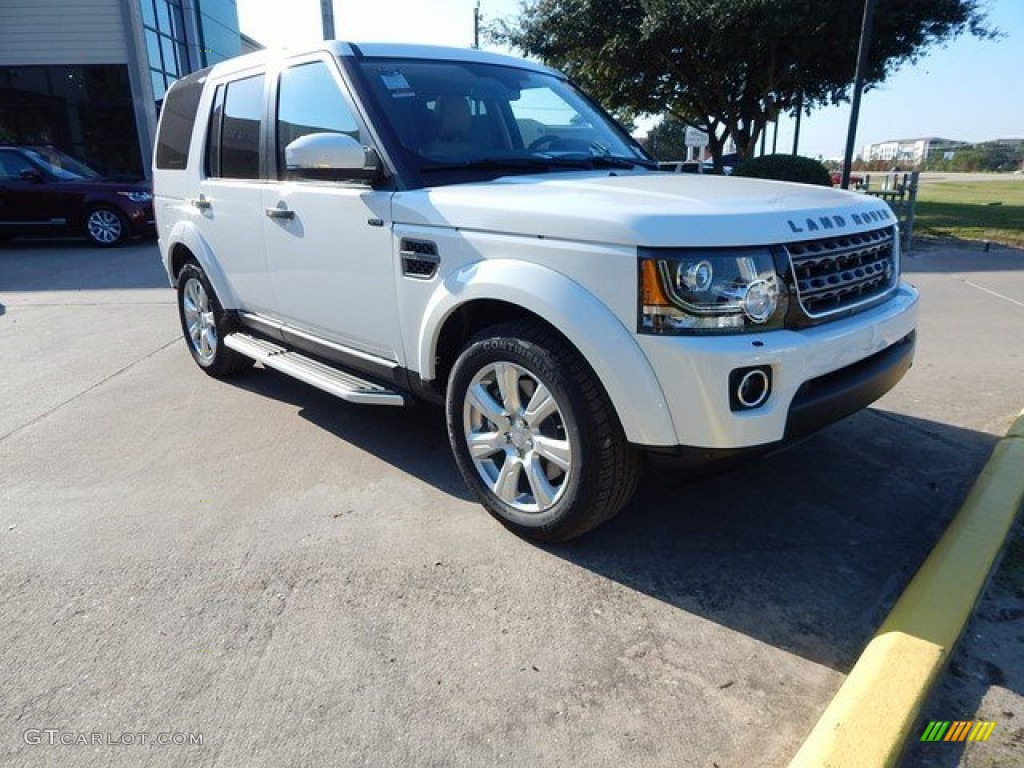 Yulong White Metallic Land Rover LR4