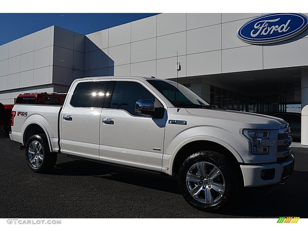 2016 white platinum ford f150 platinum supercrew 4x4 109231762 car color galleries. Black Bedroom Furniture Sets. Home Design Ideas