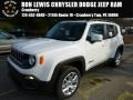 2016 Alpine White Jeep Renegade Latitude 4x4  photo #1