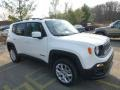 2016 Alpine White Jeep Renegade Latitude 4x4  photo #11