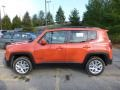 2016 Omaha Orange Jeep Renegade Latitude 4x4  photo #2