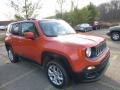 2016 Omaha Orange Jeep Renegade Latitude 4x4  photo #12