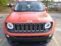 2016 Omaha Orange Jeep Renegade Latitude 4x4  photo #13