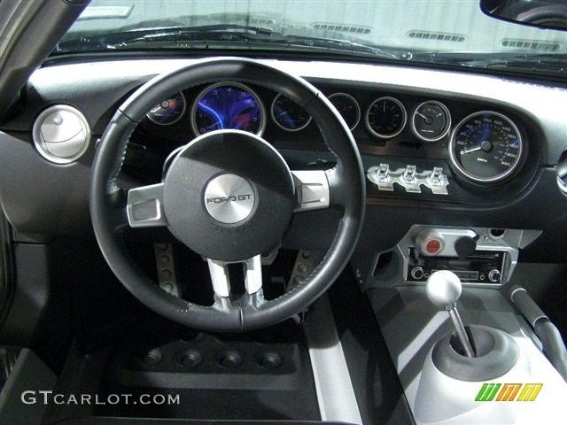 Ford Gt Standard Gt Model Ebony Black Dashboard Photo