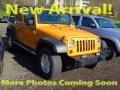2012 Dozer Yellow Jeep Wrangler Unlimited Sport 4x4 #109231913