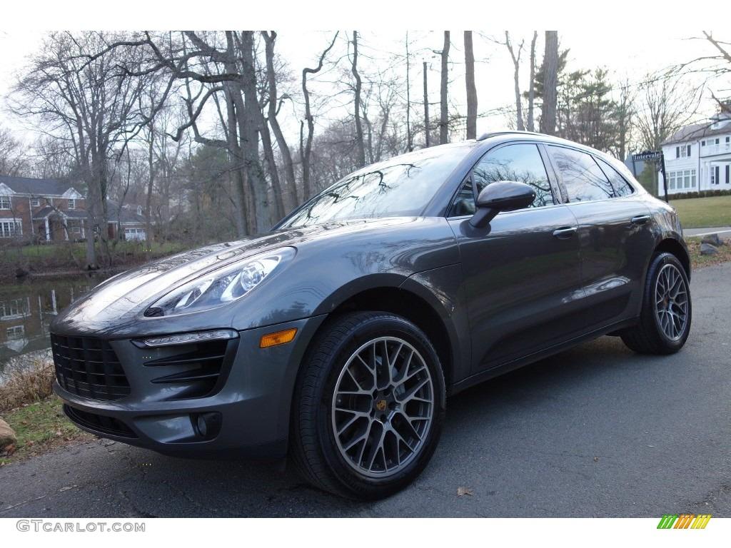 2015 Agate Grey Metallic Porsche Macan S 109231557 Car Color Galleries