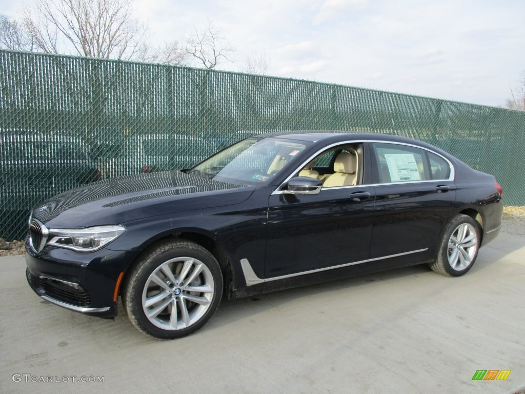 Imperial Blue Metallic 2016 BMW 7 Series 750i XDrive Sedan