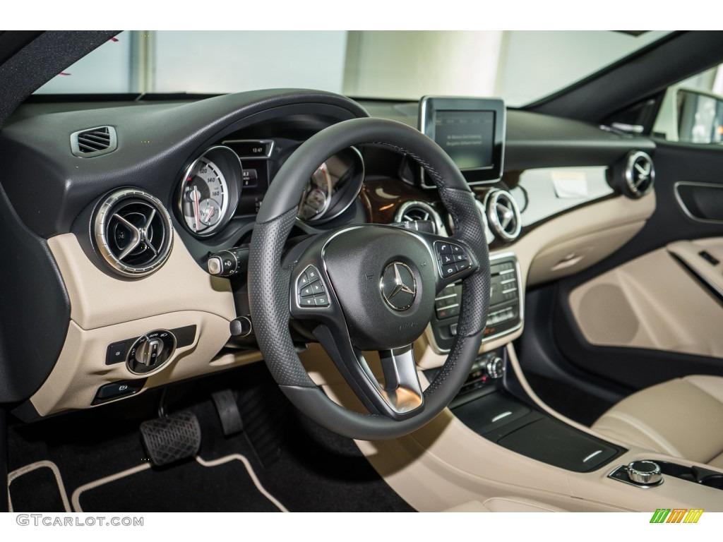 Beige Interior 2016 Mercedes Benz Cla 250 4matic Photo 109284490