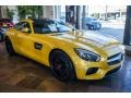 Front 3/4 View of 2016 AMG GT S Coupe