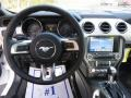 2016 Ford Mustang Dark Saddle Interior Dashboard Photo
