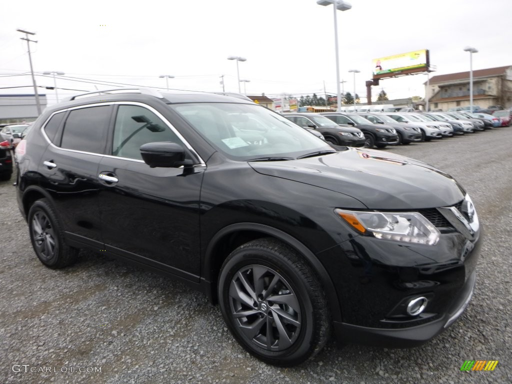Magnetic Black 2016 Nissan Rogue Sl Awd Exterior Photo 109313585
