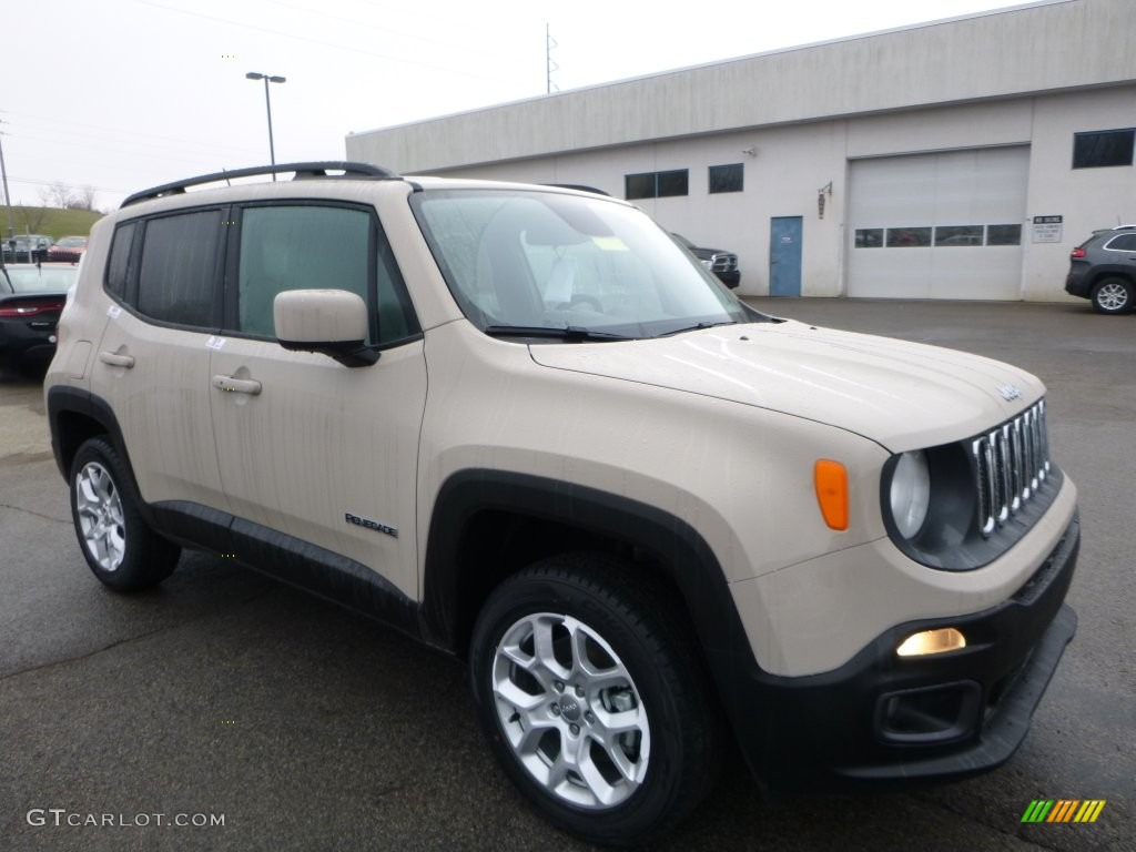 mojave sand 2016 jeep renegade latitude 4x4 exterior photo 109314692. Black Bedroom Furniture Sets. Home Design Ideas