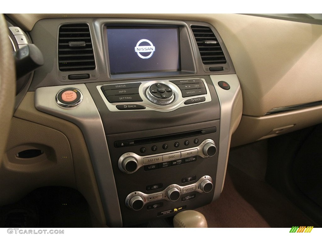 2011 Murano LE AWD - Glacier White Pearl / Beige photo #9